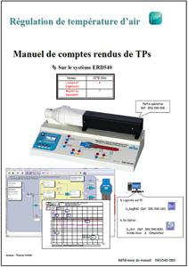 Manuel comptes rendus, température d?air, Niv. VI/VII CITE 2011 (Ref : ERD540080) 1/4