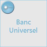 Banc d'optique universel