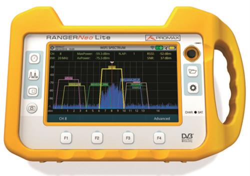 RANGER Neo Lite: Mesureur de champ TV et Satellite multifonction Analyseur WIFI 1/4
