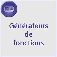 Géné. de fonctions