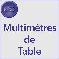 Multimètres de table