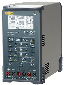 Alimentation programmable, triple, 400W, 2x0-32 V / 2x0-6 A + auxiliaire 1/4