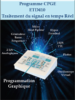 Applications traitement du signal CPGE 1/4