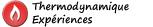 Chapitre 3 : Thermodynamique - Expériences 1/4