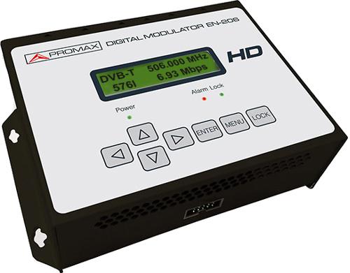 Modulateur numérique DVB-T Haute Définition 2/4